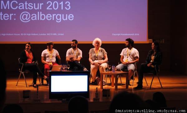 Algunos de los participantes del Travel Blogger Meeting