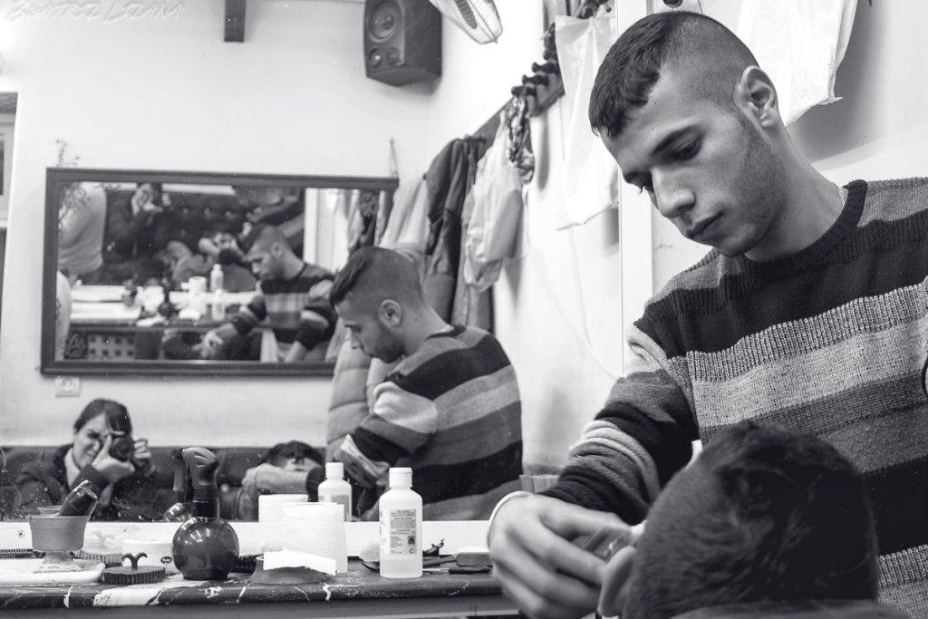 Mohammed, el peluquero ayudante de Ashraf