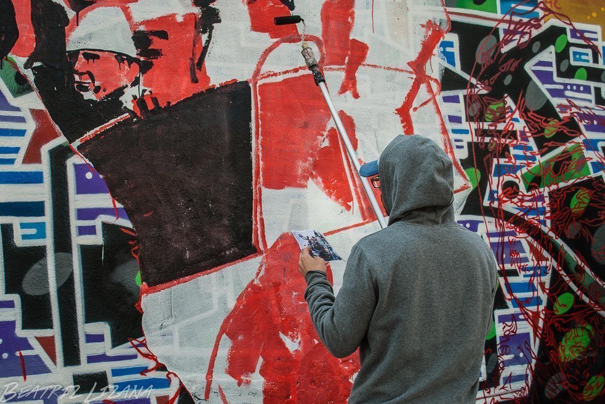 graffiteros en barcelona