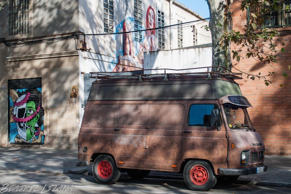 imagenes graffitis barcelona