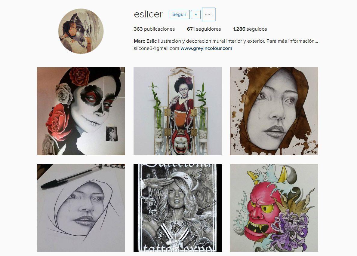 Instagram de Eslic