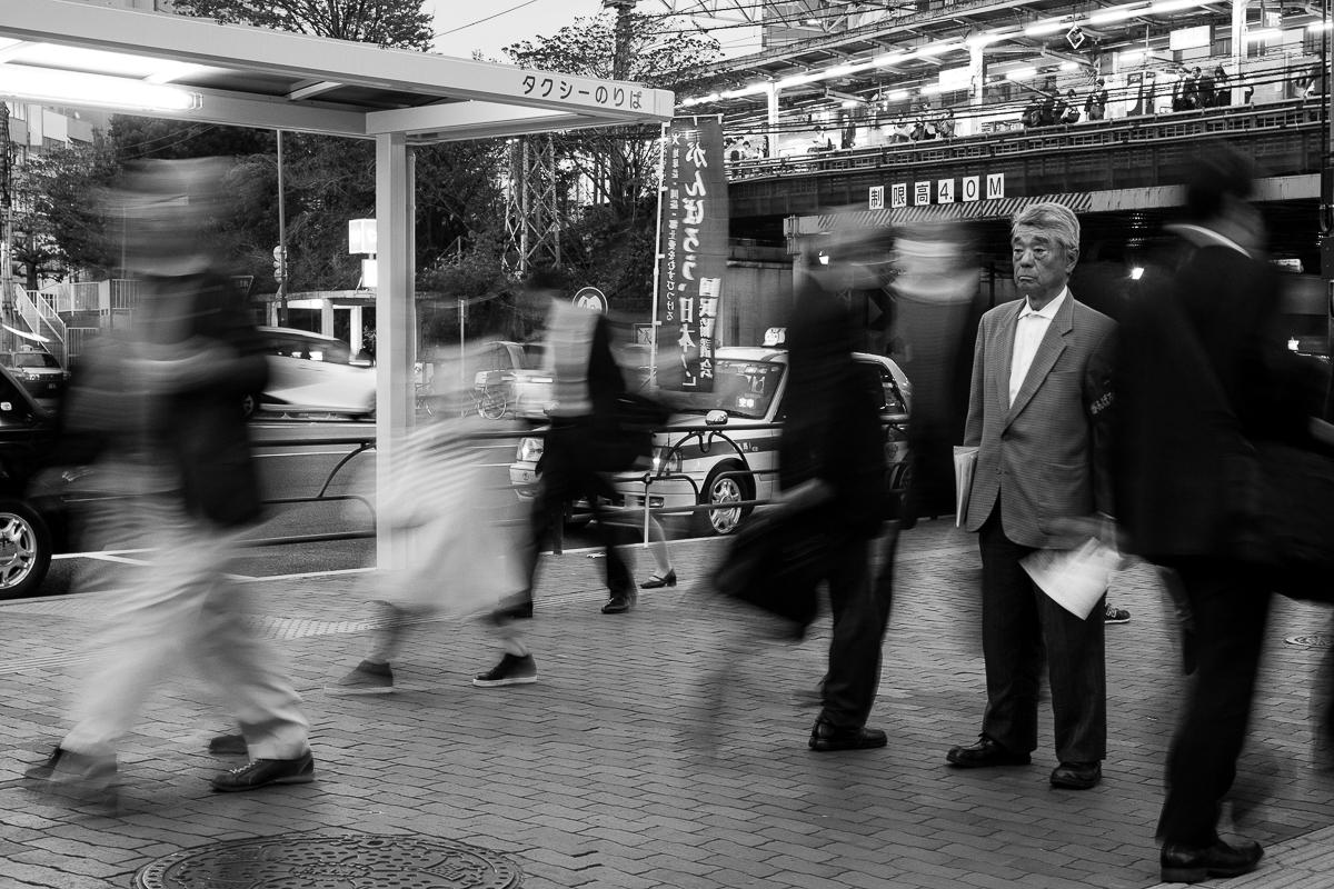 Foto callejera de Japón por Beatriz Lizana. Título: Solitude vol.I